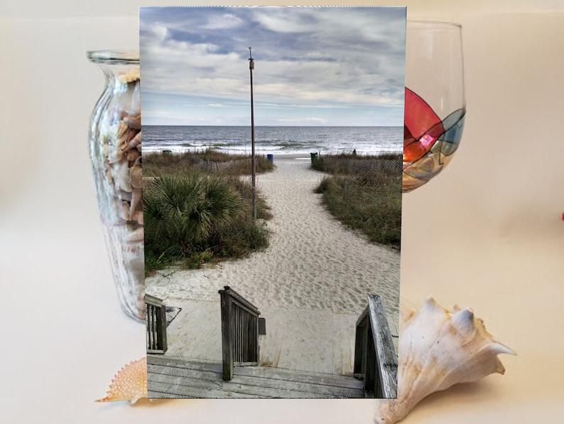 Walk to the Beach Cutting Board image 0