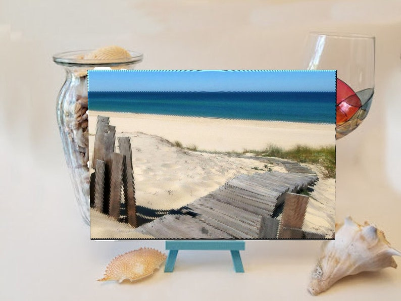 Steps to the Beach Cutting Board image 0