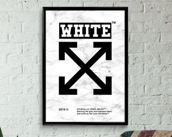 39e181b0efeb Custom Off White poster