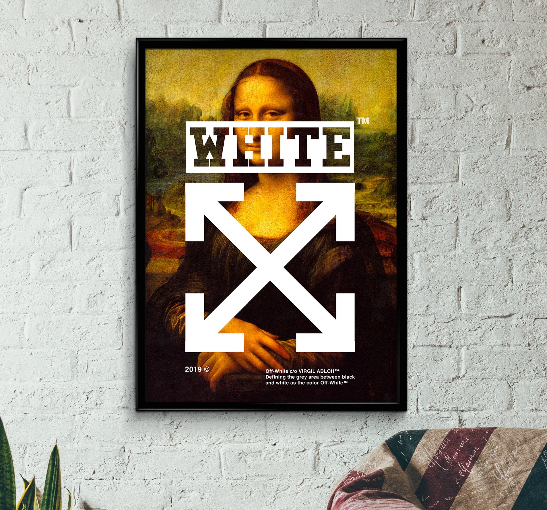 Streetwear Wall Art Pop Culture Art Off White Fan Art Poster Hypebeast Poster