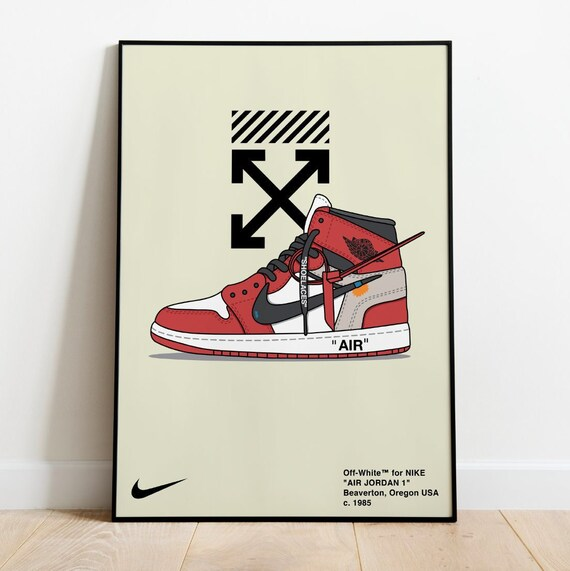 Dead Stock Air Jordan Sneaker Poster Pop Culture Poster Art Hypebeast Posters