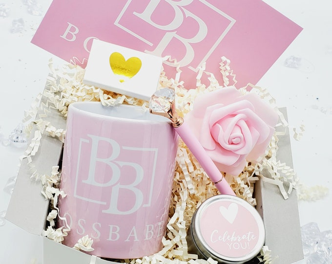 Boss Gift, Coworker Gift, New Job Gift, Promotion Gift Box, Promotion, Co Worker Gift, Congratulations, Boss Babe - PGB21001