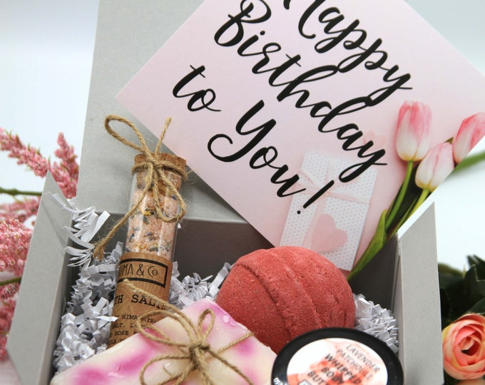Birthday Gift For Her, Birthday Gift Box for Women, Happy Birthday Gift Box for Her, Custom Gift - SBGB015