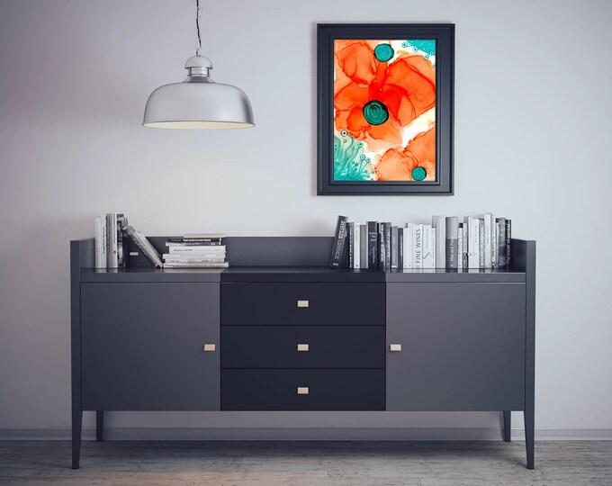 Downloadable Wall Art Print, Printable Wall Art, Abstract Printable Art, Modern Wall Art, Instant Download, Abstract Wall Art,