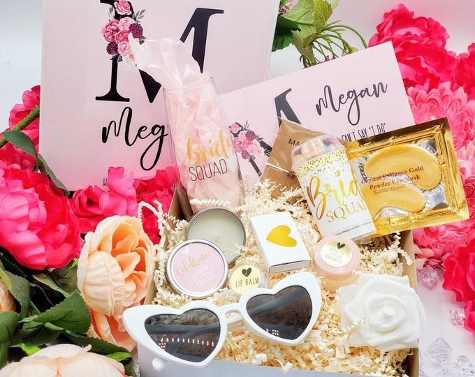 Bridesmaid Proposal Box, Bridesmaid Proposal Gift Box Set, Will You Be My Bridesmaid Gift Box , Bridesmaid Gift Set - BMPB005