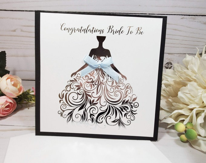 Bridal Shower Card Personalized | Wedding Shower Card | Bride To Be Card | Future Mrs Card | Engagement Card | Congratulations Card