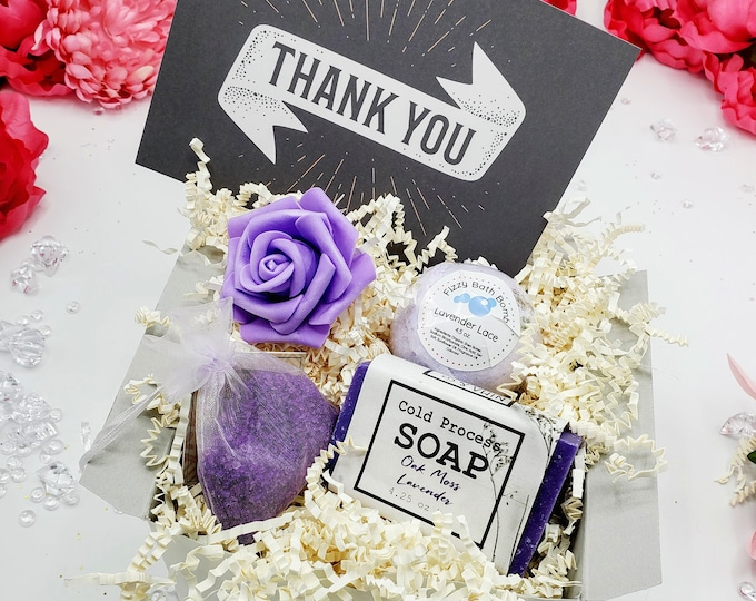 Thank You Gift For Friend, Thank You Gift, Thank You Gift Box, Thank You Gift For Mentor, Thank You Gift Coworker, Thank You - PGB21004