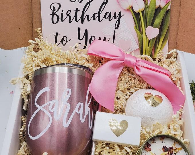 Birthday Gift Box For Her, Birthday Gift Box for Women, Birthday Gifts Basket for Friend, Friend Gift Set, Best Friends Gifts -BDGB18