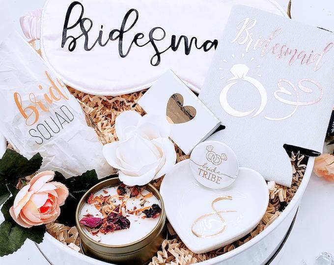 Bridesmaid Gifts, Bridesmaid Proposal Gift Box, Bridesmaid Proposal Will You Be My Bridesmaid Box Set, Bridesmaid Gift Box Set - BMPSB004