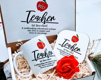 Christmas Gifts for Teacher, Teacher Thank You Gift, Teacher Gift Box, Teacher Appreciation Gift, Teacher Thank You, Teacher Gift - TAGB003