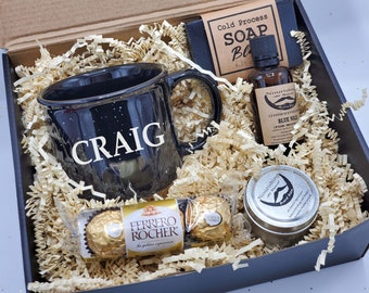 Gifts for Men Birthday Gift Box Set, Christmas Gift for Men , Father's Day Box With Mug, Dad Gifts, Gift for Dad - VDGBM09