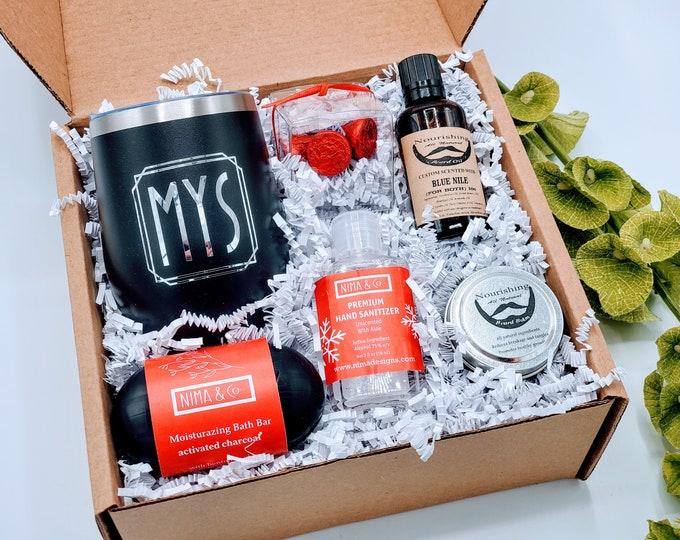 Christmas Gifts for Boyfriend, Birthday Gifts for Boyfriend, Gift Box For Men, Gifts For Him, Man Gift Box, Gifts for Dad - VDGBM08