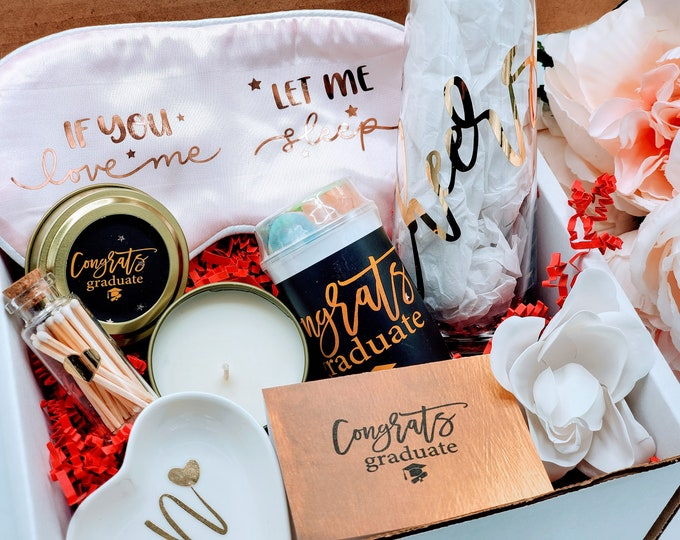 Graduation Gift Box for Her, Graduation Gift for Her, Congratulations Graduate, College Graduation Gift Box, Graduation Gifts - GGB02