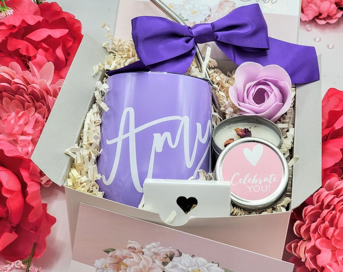 Mothers Day Gift Box, Gift Set for Mom, Gift Basket for Mom, Birthday Gift Box for Women, Mom Gift Box, Personalized Gift for Mom - MDGB006
