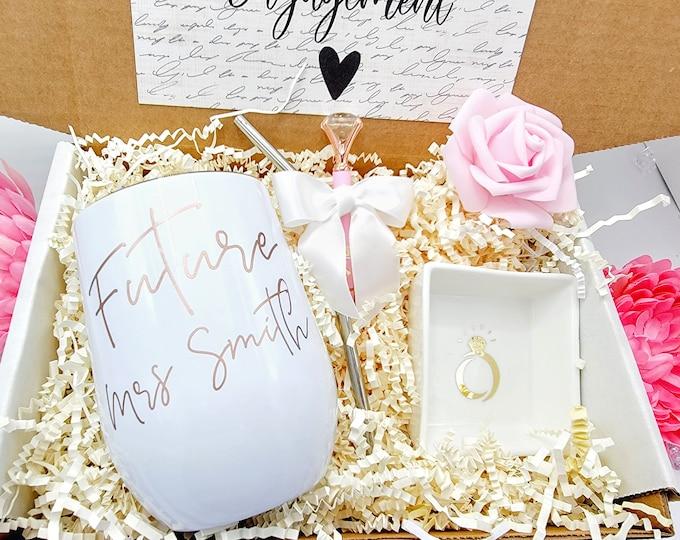 Future Mrs Gift Box for Bride, Bridal Shower Gift, Bride to be Gift Box, Engagement Gift Box, Gift for Bride, NIMA Gifts Co - BGBU30-002