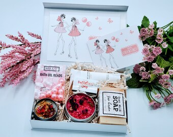 Valentine's Day Gift Box for Women, Galentine's Day Gift, Gift for Friend, Valentine Gift Box - BDS05