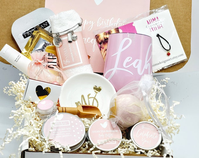 Birthday Gift Box, Gift Box For Women, Birthday Box With Spa Gift Set For Her, Gifts For Mom, Spa Gift Box for Best Friends-BDGB013