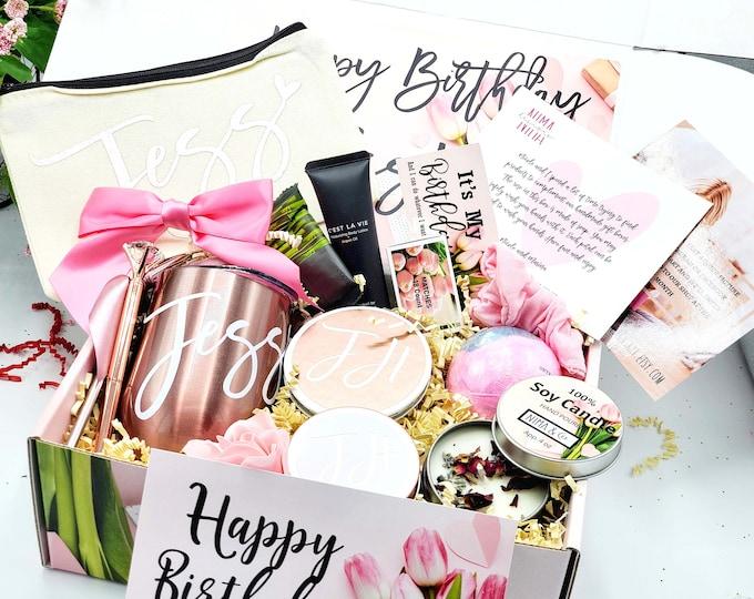 Birthday Gift Box for Best Friends, Gift Box for Women, Birthday Box, Anniversary Gift for Her, Gift Basket - BD01-01
