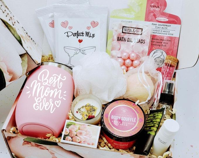 Birthday Gift Box, Birthday Gifts For Her, Spa Birthday Gift Box, Birthday Gift Box for Women, Gift Baskets for Women Birthday - BDGB008