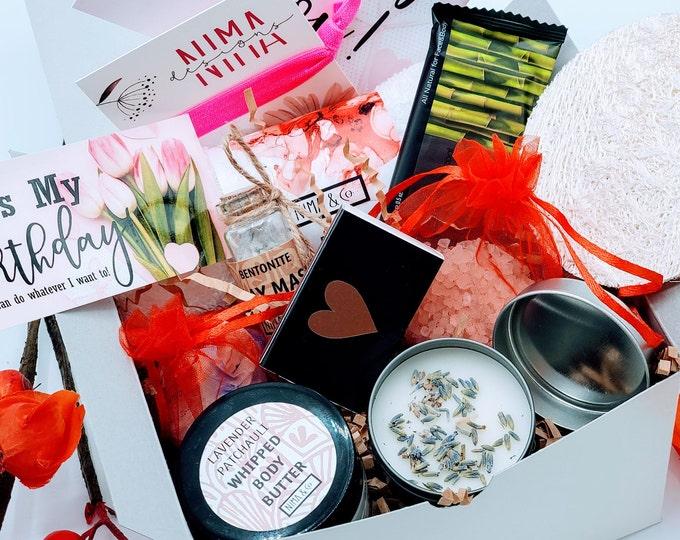 Mini Birthday Gift Box for Her, Gift Box for Women Birthday, Birthday Gift Basket for Best Friend, Gift Set for Women  - BDGB03