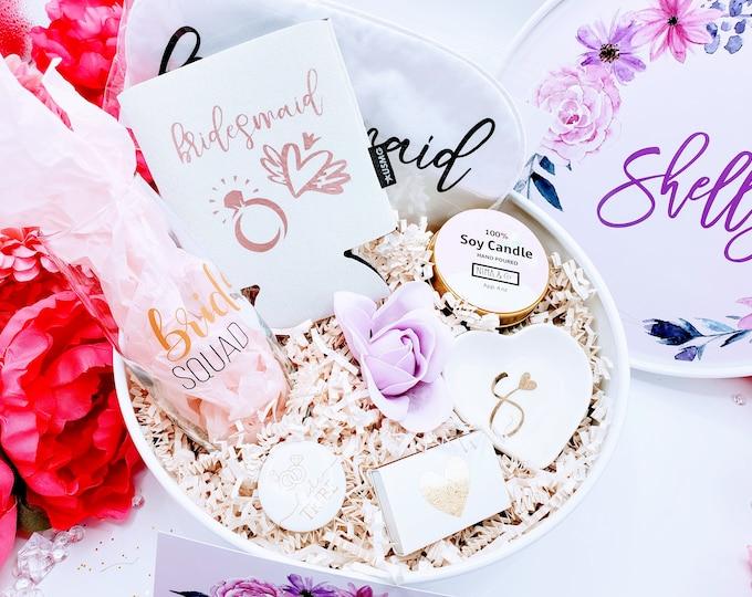 Bridesmaid Proposal Gift Box Set, Bridesmaid Proposal Box, Will You Be My Bridesmaid Gift Box , Bridesmaid Gift Set - BMPSB004