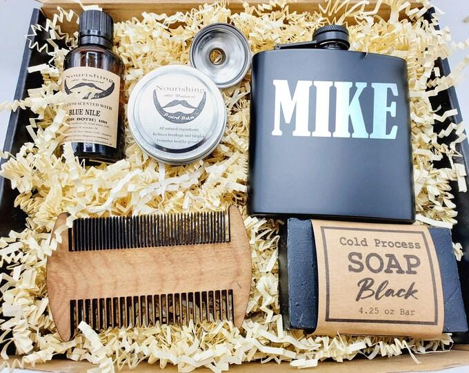 Birthday Gift Box for Boyfriend, Dad Birthday Gift, Gift Box for Men, Gift for Dad, Fathers Day Gift Box Set - GBFM003