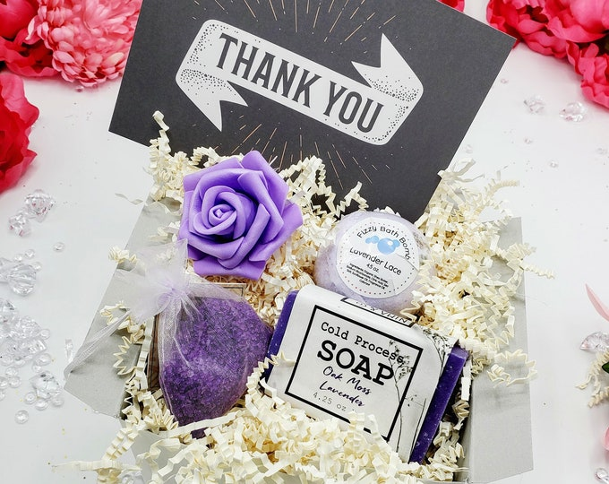 Thank You Gift For Friend, Thank You Gift, Thank You Gift Box, Thank You Gift For Mentor, Thank You Gift Coworker, NIMA Gifts Co - PGB21004