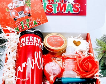 Explosion Christmas Gift Box for Women Spa Gift Set, Christmas Gift Basket, Best Friend Gift, Spa Gift, Best Friend Gifts, Gift for Her-CSB2