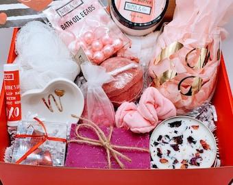 Birthday Gift Box For Her, Birthday Gift Box for Women, Birthday Gift, Friend Gift, Personalized Gift Basket, Spa Gift Set - VDGB01
