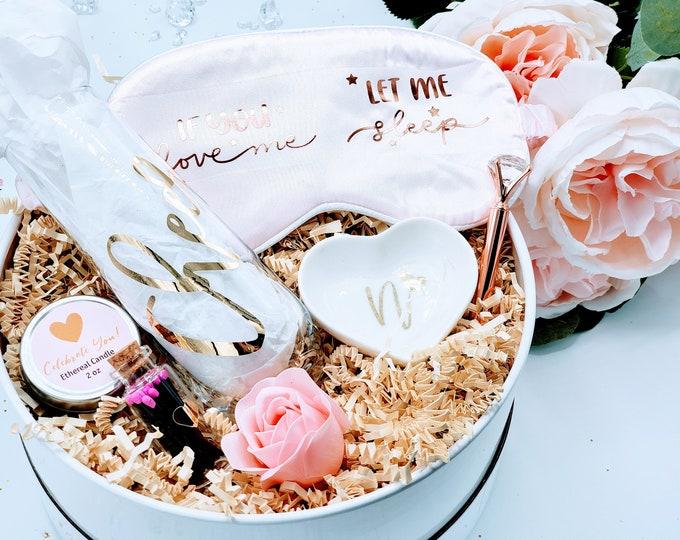 Will You Be My Bridesmaid Gift Box, Bridesmaid Proposal Gift Box Set, Bridesmaid Gifts, Bridesmaid Proposal Box, Gift Set - BMPSB003