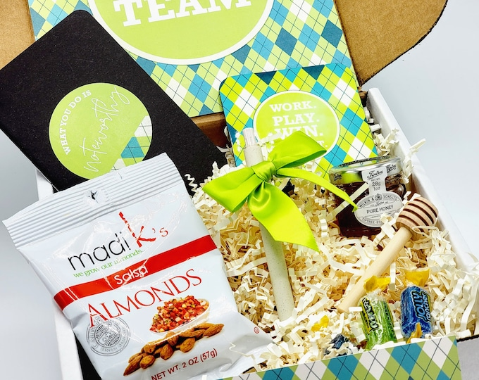 Welcome to the Team New Employee Gift Box, Corporate Gifts, New Employee Gift Set, New Coworker Gift Box - WTTB01