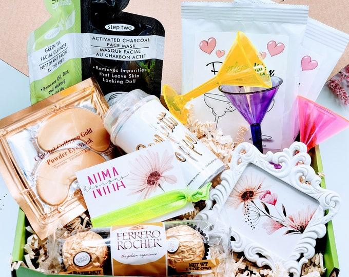 Birthday Gift Box for Her, Birthday Box for Women, 21st Birthday Gift for Her, Best Friend Birthday Gifts, Birthday Box for Her - BDBF009