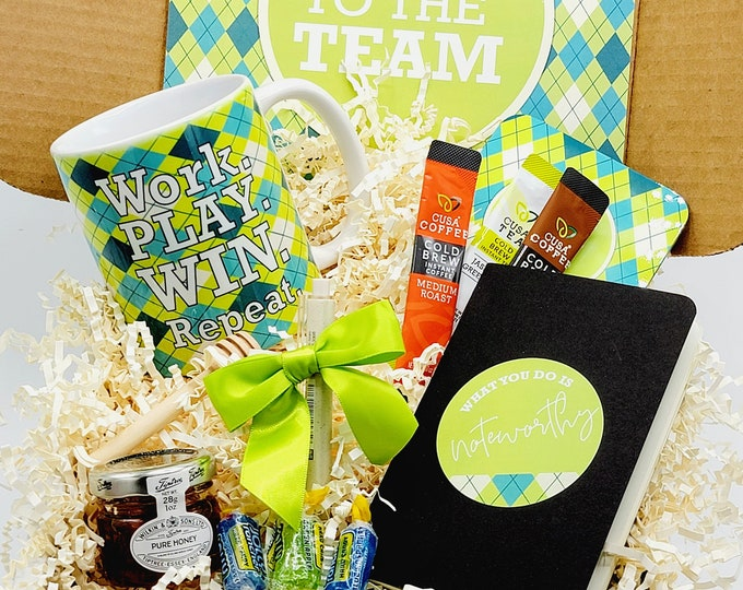 Welcome to the Team Mug Gift Box | Corporate Gift | New Employee Gift | New Team Member Welcome | Congratulations Gift | Welcome Gift WTTB02