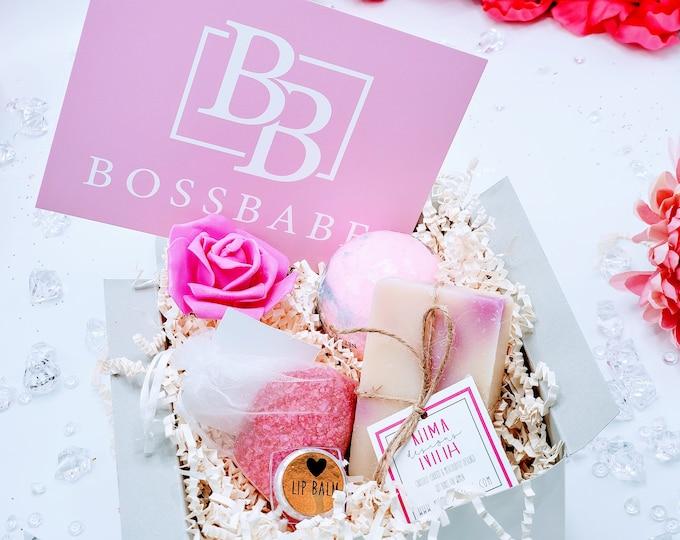 Boss Gift, Girl Boss, Gift for Boss, Boss Day, Promotion Gift Box, Bosses Day, Like A Boss, Best Boss Ever, Co-worker - PGB21002
