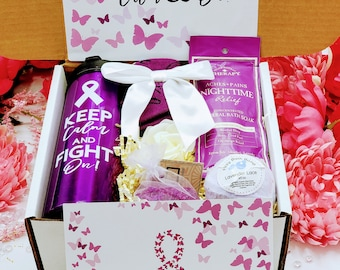 Cancer Care Package for Women • Cancer Care Box • Chemo Care Box • Cancer Support • Cancer Gift • Healing Care Box • Thinking of You CGB02