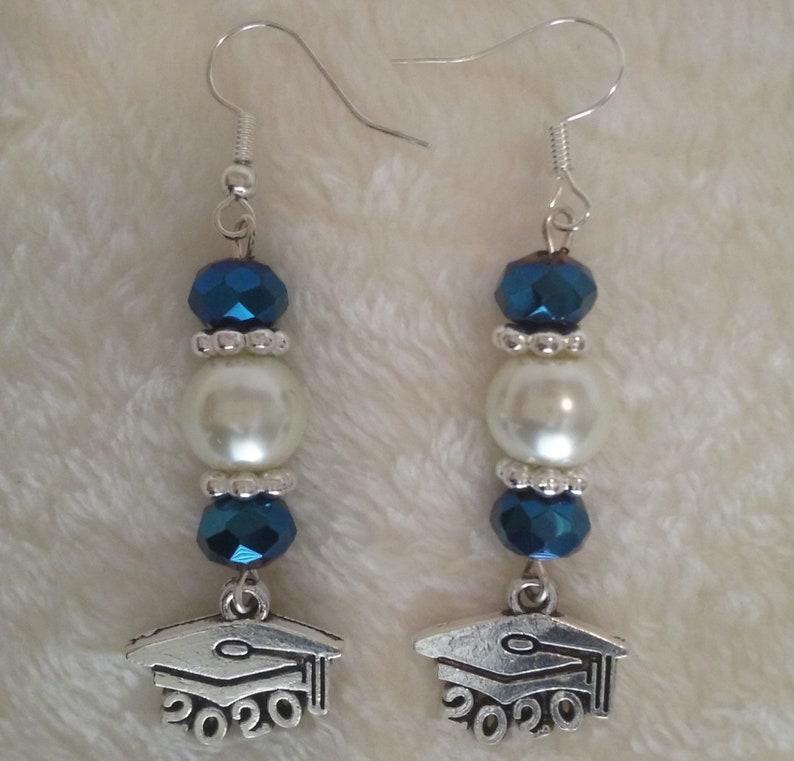 Gold Silver Dangle Earrings Graduation Jewelry Graduation 2021 Earrings Bronze Mortarboard Earrings Graduation 2021 Jewelry