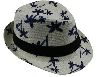98661c41eb482 Summer straw Sun hat    kids Beach Sun hat    Trilby panama Hat    handwork  for boy girl Children 4 colors