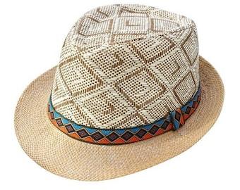 d4ff52cb23edf Summer Women Men Straw    Sun Hat Elegant Queen Homburg    Gentleman Hat  Beach Cap    Panama Hat