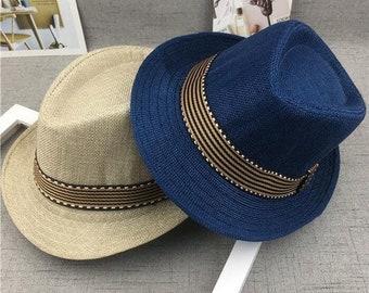 a1df6e97e Panama jazz hat | Etsy