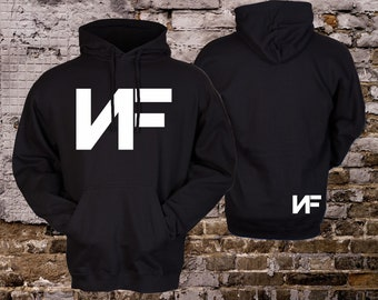 NF Hooded Sweatshirt - Real Music Rap Hip Hop Hoodie - Why - Lies Pullover 6c34abf13f4