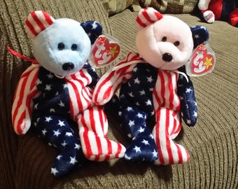 Both TY Original 1999 Spangle Beanie Babies eb93053640