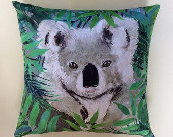 Personalized Koala Bear Pillowcase