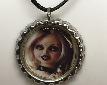 c6318333f Childs Play Tiffany Bride of Chucky Necklace Pendant Accessories Jewelry