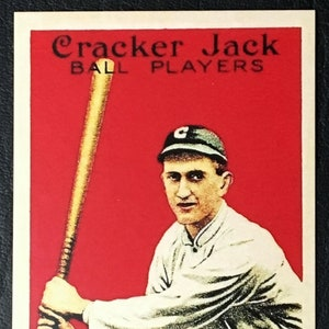 1915 Cracker Jack Ball Players Charles Comiskey Read Owner of White Sox
