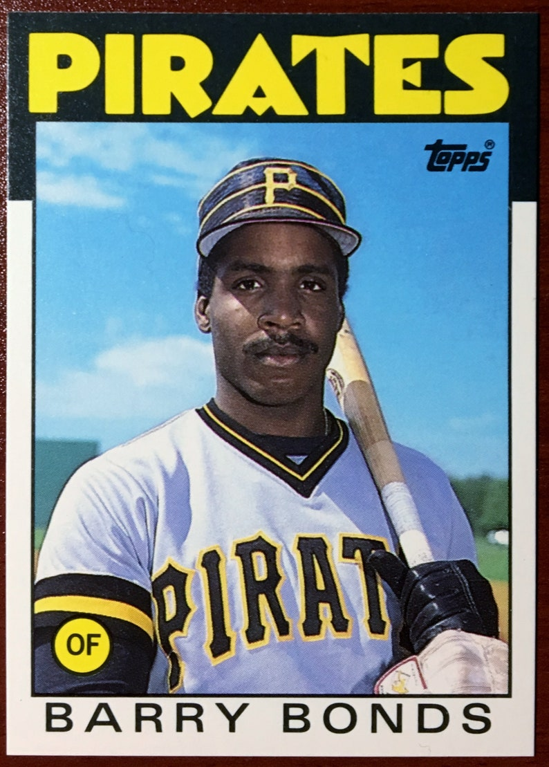 1986 Topps Traded 11t Barry Bonds Rookie Card Nmmint Pittsburgh Pirates