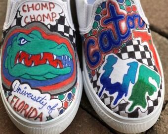 c67bde4840d ANY SCHOOL Custom College Vans Sneakers