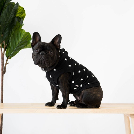 Printed Hoodie for French Bulldogs