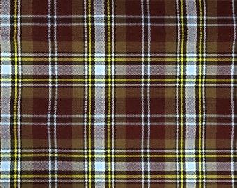 Maclaren écossaise tartan-Fat Quarter 75 cm x 50 cm Fine 100/% laine
