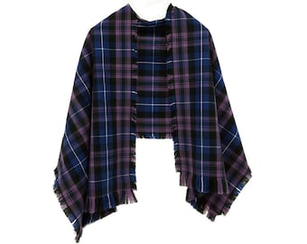 Homespun Tartan Scottish Stole - Wool Blend - Made in the USA by The Celtic Croft