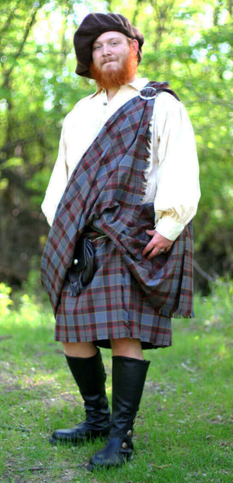 Official OUTLANDER Tartan Kilt - OUTLANDER Great Kilt Made in the USA